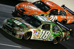 Kyle Busch and Tony Stewart