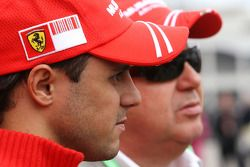 Felipe Massa, Scuderia Ferrari and his father