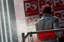 Podio: Lewis Hamilton