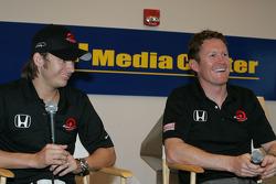 Dan Wheldon and Scott Dixon