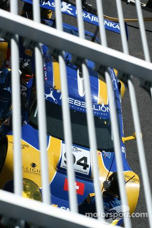 Una tigre in gabbia: #94 Speedy Racing Team Spyker C8 Laviolette GT2R: Benjamin Leuenberger, Andrea