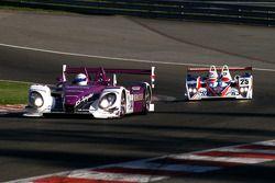 #34 Van Merksteijn Motorsport Porsche RS - Spyder: Jos Verstappen, Peter Van Merksteijn, #25 RML MG
