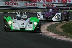 #4 Saulnier Racing Pescarolo - Judd: Jacques Nicolet, Richard Hein, Marc Faggionato and #34 Van Merk