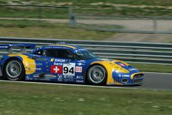 #94 Speedy Racing Team Spyker C8 Laviolette GT2R: Benjamin Leuenberger, Andrea Chiesa, Alexander Ira