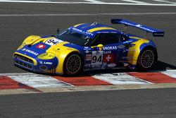 #94 Speedy Racing Team Spyker C8 Laviolette GT2R: Benjamin Leuenberger, Andrea Chiesa, Alexander Iradj