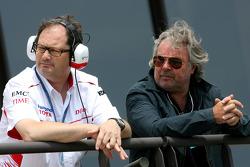 Frank Dernie, Toyota Racing and Keke Rosberg, former Formula One World Champion and father of Nico Rosberg, Williams F1 Team