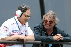 Frank Dernie, Toyota Racing and Keke Rosberg, former Formula One World Champion and father of Nico Rosberg, Williams F1 Team