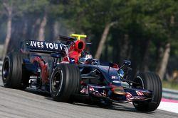 Sebastian Vettel, Scuderia Toro Rosso ve STR03- Formula 1 testi