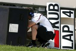 BMW Sauber F1 Team mechanic