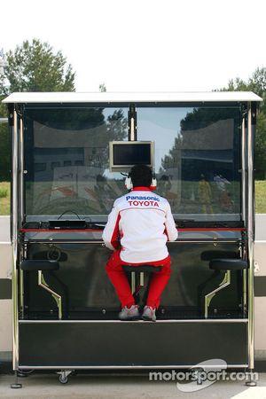 Toyota Team F1 mühendis