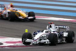 Nick Heidfeld, BMW Sauber F1 Team, Nelson A. Piquet, Renault F1 Team