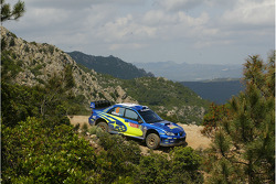 Крис Эткинсон и Стефан Прево, Subaru World Rally Team, Subaru Impreza WRC