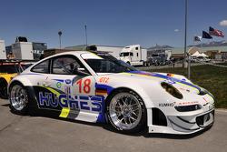 The #18 Porsche 911 GT3 RSR