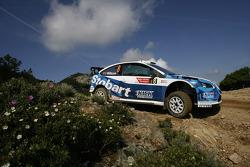 François Duval and Eddy Chevailler, Stobart VK M-Sport Ford World Rally Team