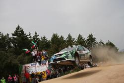 Gianluigi Galli and Giovanni Bernacchini, Stobart VK M-Sport Ford World Rally Team, Ford Focus RS WR