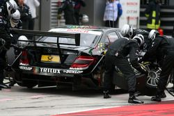 Pitstop of Ralf Schumacher, Mücke Motorsport AMG Mercedes, AMG Mercedes C-Klasse