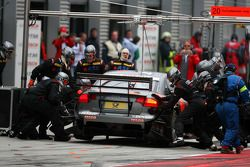 Pitstop of Christijan Albers, TME, Audi A4 DTM