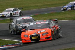 Christijan Albers, TME, Audi A4 DTM, leads Ralf Schumacher, Mücke Motorsport AMG Mercedes, AMG Merce