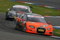 Christijan Albers, TME, Audi A4 DTM, leads Ralf Schumacher, Mücke Motorsport AMG Mercedes, AMG Mercedes C-Klasse