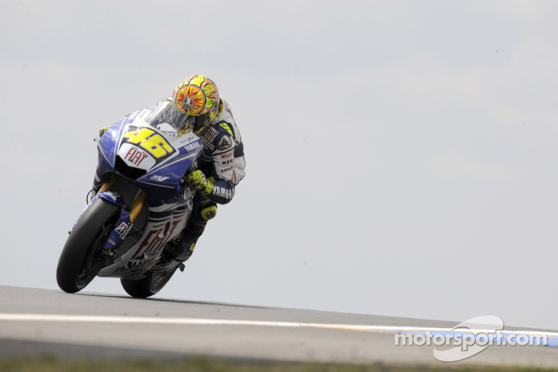 2008 : Valentino Rossi (Yamaha YZR-M1)