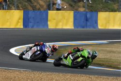 John Hopkins and Jorge Lorenzo
