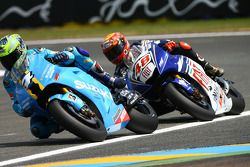 Chris Vermeulen and Jorge Lorenzo