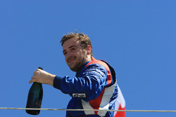 Race winner James Hinchcliffe