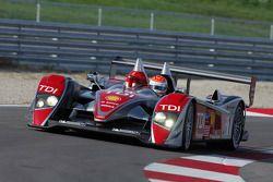 #1 Audi Sport North America Audi R10 TDI: Emanuele Pirro, Frank Biela