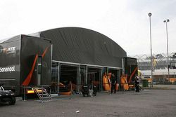 Ultimate Motorsport's massive new awning