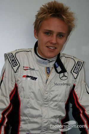 Max Chilton is pleased to be on the front row