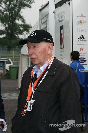 John Surtees in the F3 paddock