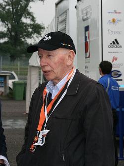 John Surtees in the F3 paddock