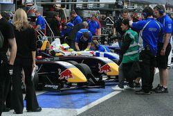 Carlin Motorsport in the pitlane