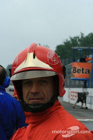 Monza fireman