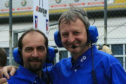 Ombra celebrate their pole position