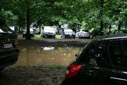 The quagmire that was the car park