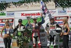 Superbike podium