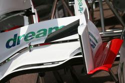 Honda Racing F1 Team, front wing, detail