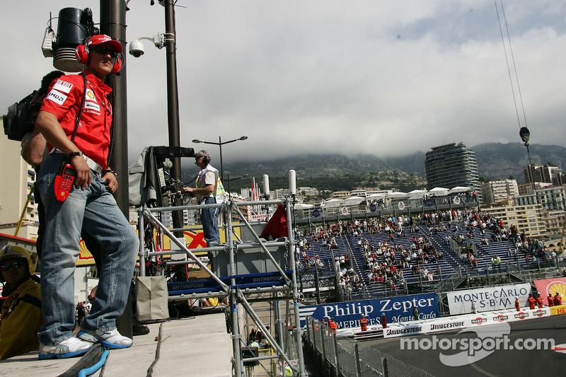 Michael Schumacher, Test Pilotu & Advisor, Scuderia Ferrari
