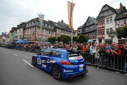 #117 Volkswagen Motorsport VW Scirocco: Carlos Sainz, Giniel De Villiers, Dieter Depping, Hans Joachim Stuck