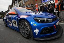 #117 Volkswagen Motorsport VW Scirocco: Carlos Sainz, Giniel De Villiers, Dieter Depping, Hans Joach