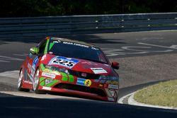 Pink Power Taunus Racing Honda Civic Type R : Ludger Henrich, Jürgen Schulten, Helmut Engelbracht, Siegfried Schlacks