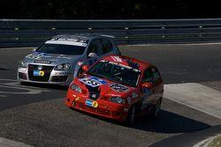 Deutscher Sportfahrerkreis e.V. Seat Ibiza Cup : Ralf Zensen, Lothar Wilms, Christopher Peters; R-Line VW Golf GTI : Thomas Klenke, Kai Jordan, Mario Merten