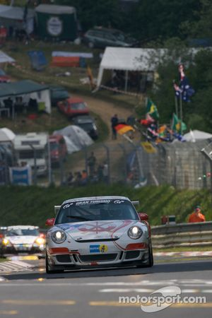 Scuderia Offenbach Porsche 997 GT3 Cup : Matthias Weiland, Harald Weiland, Michael Klein, Antoine Feidt