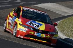 Honda Civic Type R : Michael Ecker, Kim Berwanger, Uwe Unteroberdörster