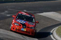 Deutscher Sportfahrerkreis e.V. Seat Ibiza Cup : Ralf Zensen, Lothar Wilms, Christopher Peters