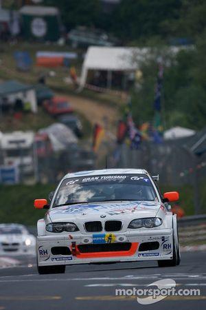 Renngemeinschaft Bergisch Gladbach BMW 130d : Thomas Haider, Rainer Kutsch, Marc Hiltscher, Jutta Kleinschmidt
