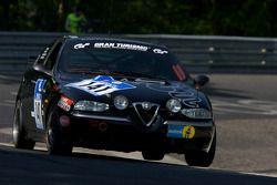 #141 Alfa Romeo 156: David Smith, Adlington Roderick, Malcolm Edeson, Angus Kirkwood