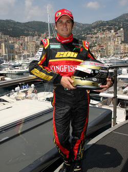 Giancarlo Fisichella, Force India F1 Team in his 200th Grand Prix this weekend.