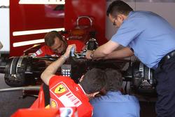 FIA Working, Scuderia Ferrari gearbox